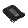 "ADATA 2.5"" HDD USB 3.0 2TB 5400rpm 8MB Portable Fekete, HD710P ütésálló"