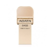 ADATA 64GB Adata i-Memory AI920 Lightning/USB3.1 GEN1 arany (AAI920-64G-CGD)