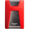 ADATA External drive HDD ADATA DashDrive Durable HD650 AHD650-1TU3-CRD (1 TB; 2.5 Inch; USB 3.0; 5400 rpm; Red)