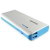 ADATA PT100 White/Blue PowerBank 10000mAh (APT100-10000M-5V-CBLWH)