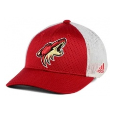 Adidas Arizona Coyotes baseball sapka red Mesh Flex Cap - S/M
