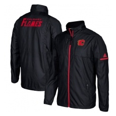 Adidas Calgary Flames fĂŠrfi kabát black Authentic Rink Full-Zip Jacket - S