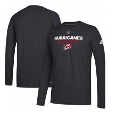 Adidas Carolina Hurricanes fĂŠrfi hosszú ujjú póló black Authentic Ice Climalite Ultimate L/S - M