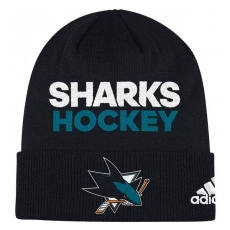 Adidas San Jose Sharks TĂŠli sapka Locker Room 2017