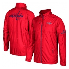 Adidas Washington Capitals fĂŠrfi kabát red Authentic Rink Full-Zip Jacket - XXXL