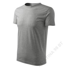 ADLER Classic New ADLER pólók férfi, sötétszürke melírozott