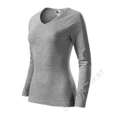 ADLER Elegance Pólók női, sötétszürke melírozott női póló