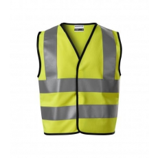 ADLER Gyerek biztonsági mellény HV Bright - Reflexní žlutá   104-128 cm (4-6 let)