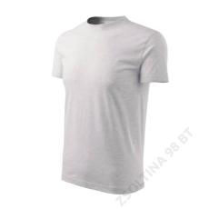 ADLER Heavy ADLER pólók unisex, világosszürke melírozott