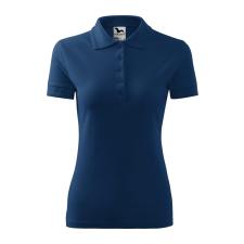 ADLER Női galléros póló Pique Polo - Éjféli kék - S női póló