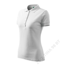 ADLER Pique Polo ADLER galléros póló női, fehér