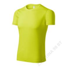 ADLER Pixel PICCOLIO pólók unisex, neon yellow