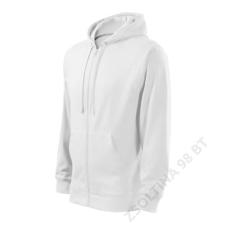 ADLER Trendy Zipper Felső férfi, fehér munkaruha