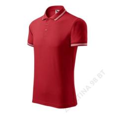 ADLER Urban ADLER galléros póló férfi, piros