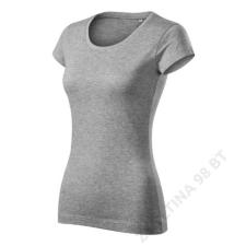 ADLER Viper Free Pólók női, sötétszürke melírozott női póló
