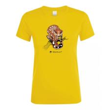 Aeluroscalabotes felinus gold női póló női póló