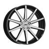 AEZ Straight 9,5x19 5x112 ET35 CB70.1 polírozott/csiszolt homlokfelület / fekete lakk