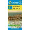 Aigina térkép - Anavasi
