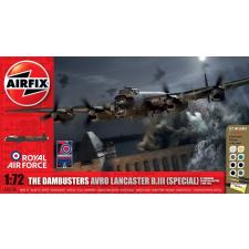 AIRFIX The Dambusters Lancaster makett szett Airfix A50138 makett figura