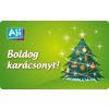 AJI feltölthetõ ajándékkártya-Fenyõ