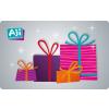 AJI feltölthetõ ajándékkártya-Meglepetés