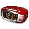 Akai CE-1500 órás rádió, AM/FM, LED kijelző, Sleep Timer, Piros  (CE-1500)