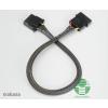 Akasa 4pin Molex tápkábel hosszabbító 30cm /AK-CBPW02-30/ (AK-CBPW02-30)