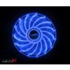 Akasa ak-fn091-bl vegas 120mm kék led ventilátor