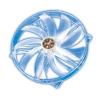 Akasa Blue LED Crystal Clear - 220mm
