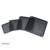 Akasa GRM120-AL01-BK 12cm fekete aluminium ventilátor szűrő