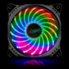 Akasa Vegas X7 LED RGB ventilátor - 120mm /AK-FN093/
