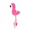 Akinu flamingó kutyajáték 42cm