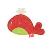 Akinu PREMIUM bőr piros színű bálna alakú játék