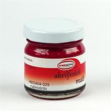 . Akrilfesték, 40 ml, matt, rubinvörös akrilfesték