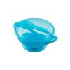 AKUKU Dětská miska s přísavkou a se lžičkou Akuku modrá