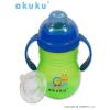 AKUKU Szilikonos csőrös pohár Akuku - zöld | Zöld |