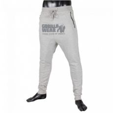ALABAMA DROP CROTCH JOGGERS - GREY (GREY) [XL]