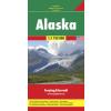 Alaszka autótérkép - f&b AK 168