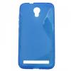 Alcatel One Touch Idol 2 Mini S (6036Y), TPU szilikon tok, S-Line, kék