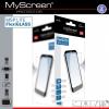Alcatel One Touch Idol 3 4.7 (6039), Kijelzővédő fólia, ütésálló fólia, MyScreen Protector L!te, Flexi Glass, Clear, 1 db / csomag