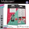 Alcatel One Touch Pop C3 (4033), Kijelzővédő fólia, MyScreen Protector, Clear Prémium / Matt, ujjlenyomatmentes, 2 db / csomag
