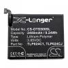 Alcatel Shine Lite (OT-5080X), Akkumulátor, 2400 mAh, Li-Polymer, C2400007C2 kompatibilis
