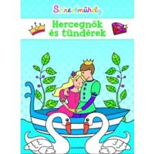 Alexandra Kiadó Színezőműhely - Hercegnők és tündérek gyermek- és ifjúsági könyv