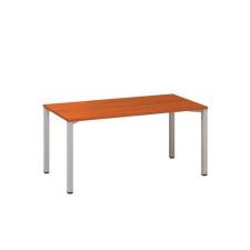 Alfa Office Alfa 200 irodai asztal, 160 x 80 x 74,2 cm, egyenes kivitel, cseresznye mintázat, RAL9022% irodabútor