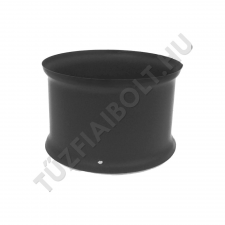 Alföldi-MAGYAR Falhüvely 120 fekete hűtés, fűtés szerelvény