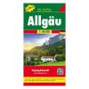 Allgäu térkép / TOP 10 Tipp / freytag & berndt