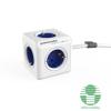 Allocacoc PowerCube Extended 1,5m kék/fehér 5-ös elosztó (1300BL/DEEXPC)