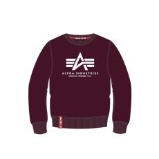 Alpha Indsutries Basic Sweater - deep maroon