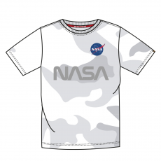 Alpha Indsutries NASA Reflective T - white camo