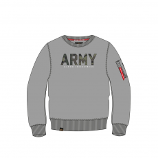 Alpha Industries Army Camo Sweater - szürke